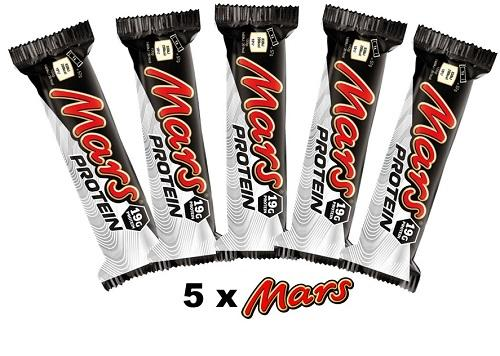 Mars 5 pack - Protein Bars, Drinks & Snacks - WholeSupps Online Mega Store