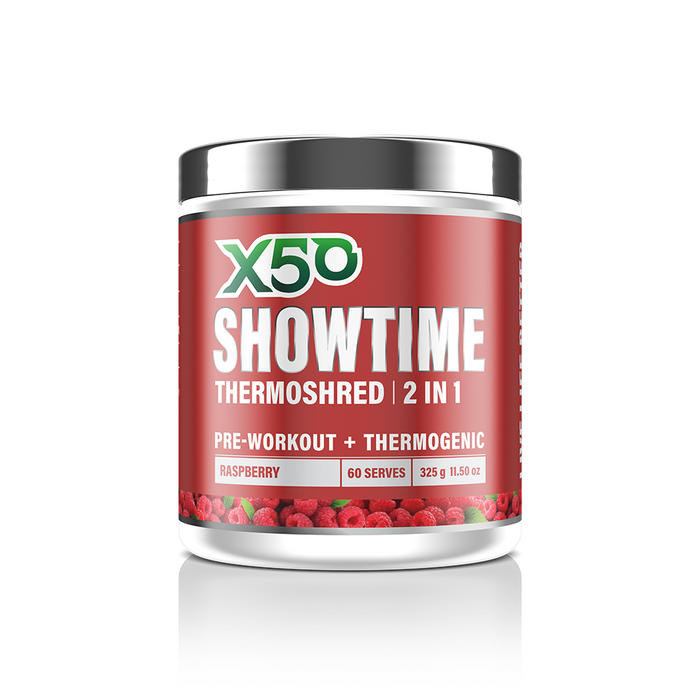 Showtime Thermoshred by X50 Lifestyle