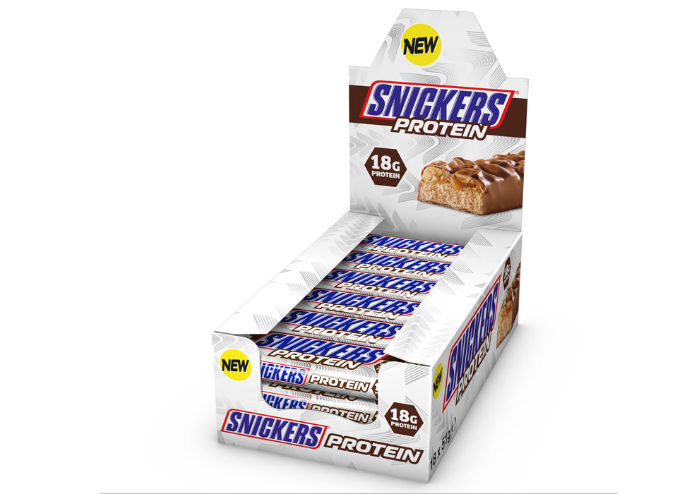 Box of Snickers Protein Bar by Mars - Protein Bars, Drinks & Snacks - WholeSupps Online Mega Store
