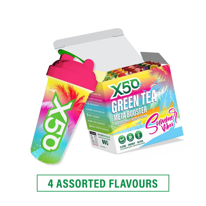 Summer Vibes Green Tea Gift Set by X50 Lifestyle