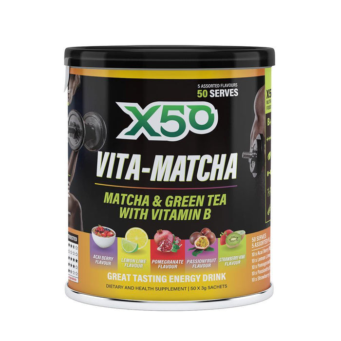 Limited Edition Vita Matcha by X50 Lifestyle