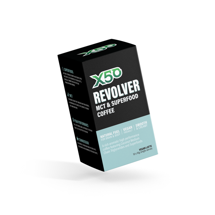Revolver High Performance MCT & Superfood Coffee by X50 Lifestyle