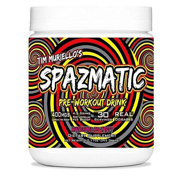 Spazmatic Pre Workout by Tim Muriello - Pre Workouts