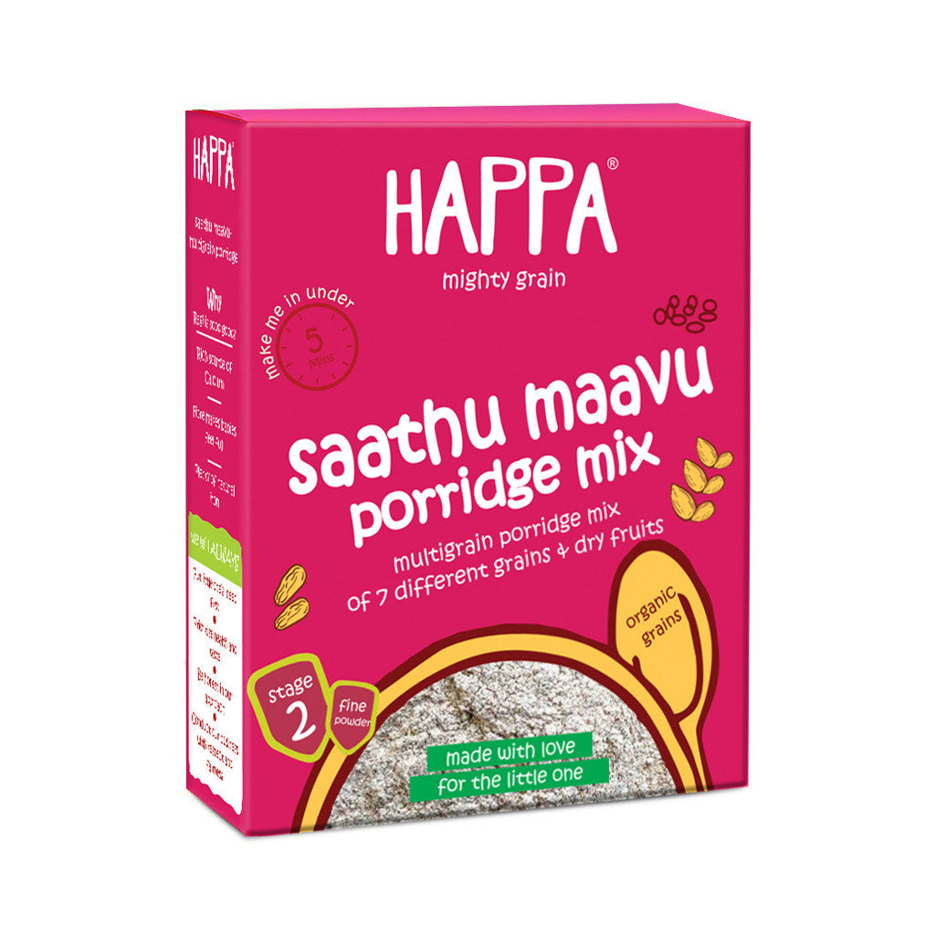 Veggie and Grain Puree Trial Pack of 8 - Happafoods