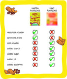 Happa Organic Baby Food, Fruit Puree and Porridge Combo, 4 Puree 100 Grams each and 2 Porridges 200 Grams Each - Happafoods