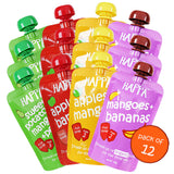 Apple +Mango, Mango+Banana, Apple+Banana, SWT. Potato+Mango+Pears (combo pack)(Pack of 12)