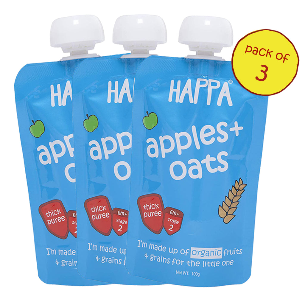 apple+oats (Pack of 3) - Happafoods