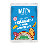 Happa Organic Porridge Trial Pack Stage 2 (Each Pack 50 Gram) (4 Pouches) 6 Months + - Happafoods