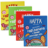 Happa Porridge Combo , 4 Packs, 200 Gram Each