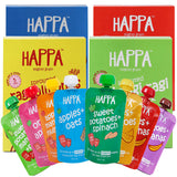 Happa Super Trial Pack, 8 Purees 100 Gram Each , 4 Porridge 200 Gram Each