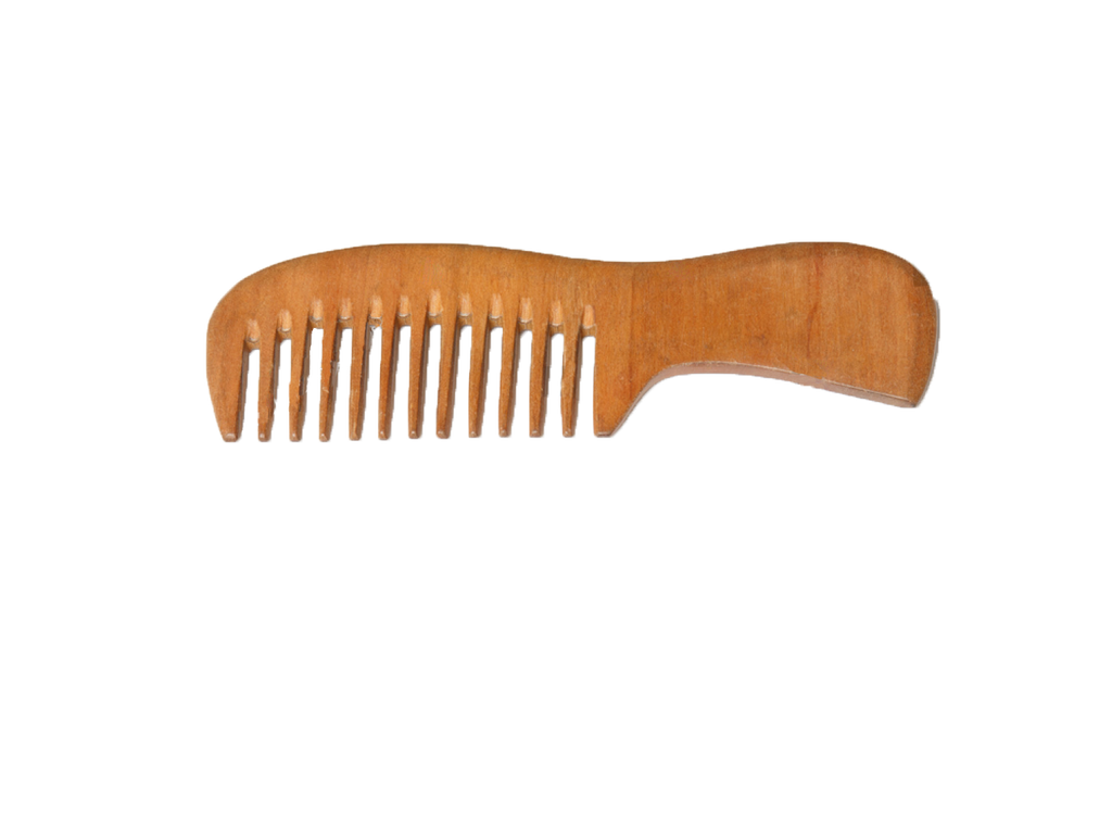 Happa Neem Wood Hair Comb for Infants Babies and Kids - Happafoods