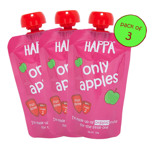 Only Apple (Pack of 3) - Happafoods
