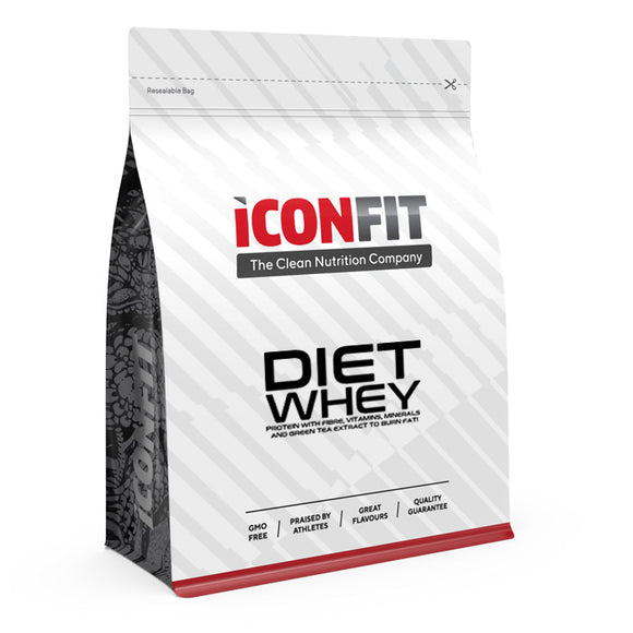 Iconfit Diet Whey - Cappuccino - Kevytkauppa.fi