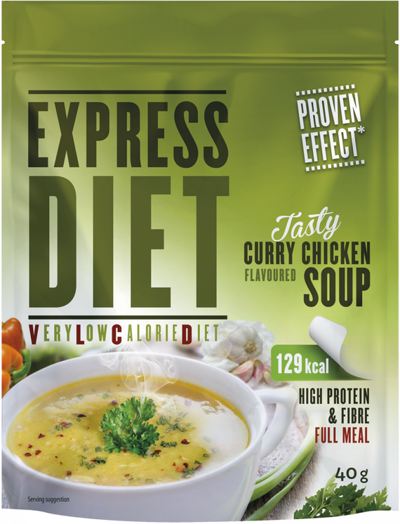 Express Diet Curry-Kanakeitto - Kevytkauppa.fi