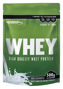 Leader Whey Protein - Natural - Kevytkauppa.fi