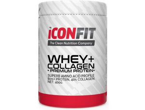 Iconfit Whey+ Collagen - Vanilja - Kevytkauppa.fi