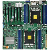 Supermicro MotherBoard MBD-X11DPI-N-B Xeon Dual Socket S3647 C621 Max.2TB PCI Exress EATX Brown Box