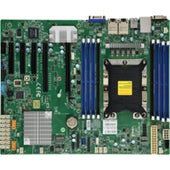 Supermicro Motherboard MBD-X11SPI-TF-O Xeon Single Socket P S3647 C622 Max.1TB PCI Express ATX Brown Box