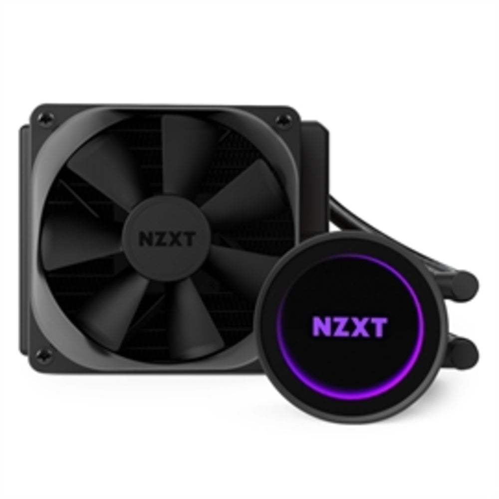 NZXT Accessory RL-KRM22-01 Kraken M22 120mm Liquid Cooler with RGB Lighting for Intel/AMD Retail