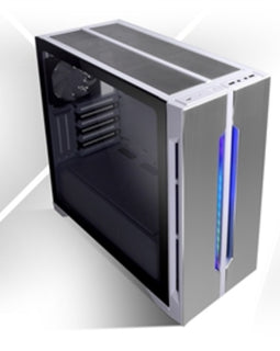 Lian-Li Case LANCOOL ONE DIGITAL WHITE Tower Chassis 4x2.5 inch Solid State Drive 2x3.5 inch Hard Disc Drive E-ATX/ATX/mATX Retail