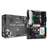 ASRock Motherboard B450 Steel Legend AMD AM4 B450 DDR4 ATX Retail