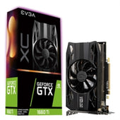 EVGA Video Card 06G-P4-1263-KR NVIDIA GeForce GTX 1660 Ti XC GAMING 6GB GDDR6 HDB Fan Retail