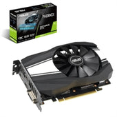 Asus Video Card PH-GTX1660TI-O6G NVIDIA GeForce GTX 1660 Ti Phoenix Fan 6GB GDDR6 192B PCIE HDMI/DP Retail