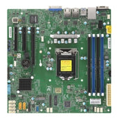 Supermicro Motherboard MBD-X11SCL-F-B LGA1151 E-2100 C242 128GB DDR4 PCI Express microATX Brown Box