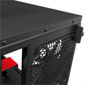 "NZXT Case CA-H210i-BR H210i SGCC Steel and TG USB 3.5""/2.5"" Mini-ITX Matte Black/Red Retail"