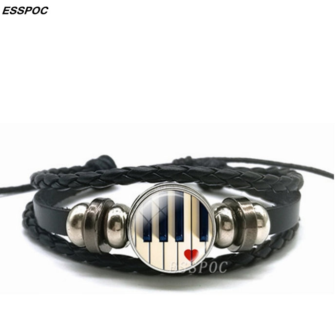 ConPHIdent Music Multilayered Piano Bracelets