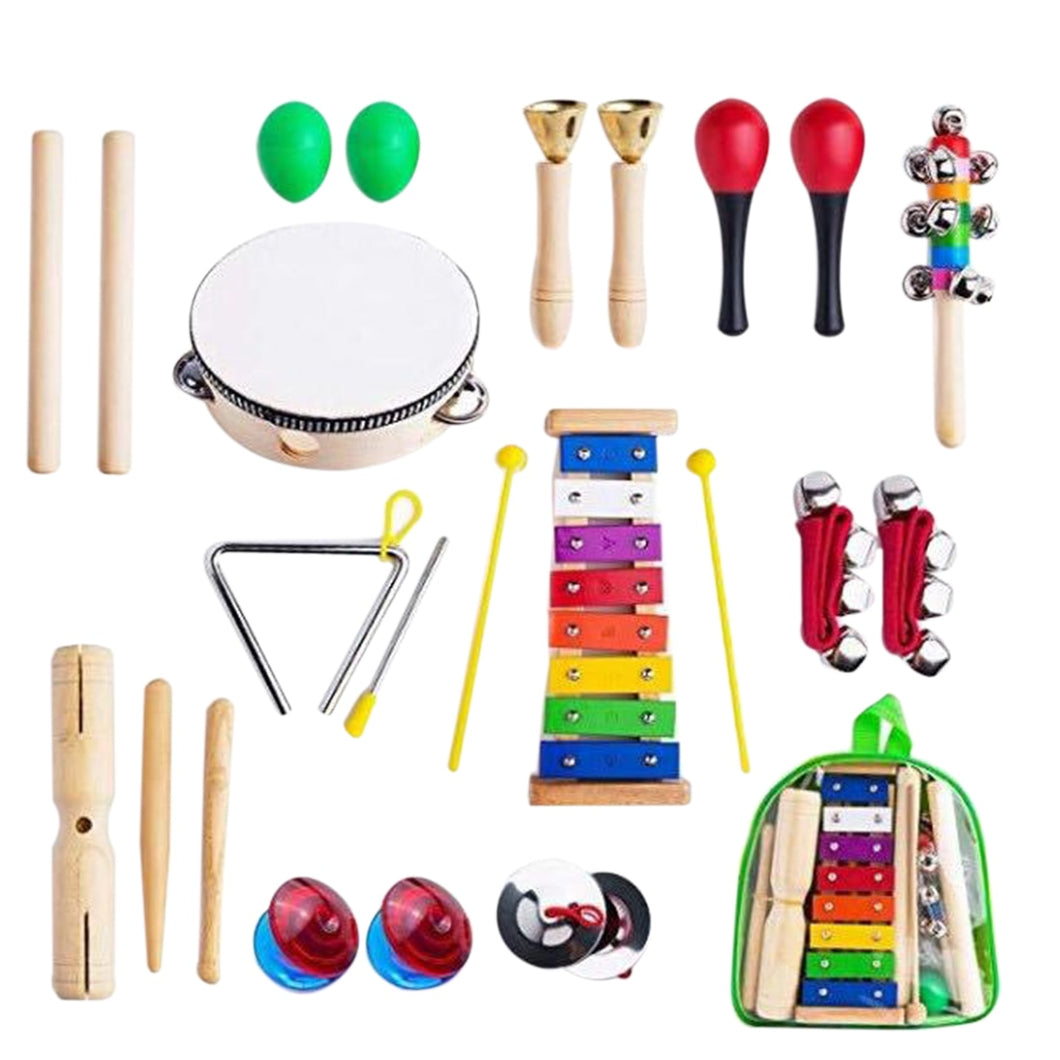24Pcs Children Early Educational Musical Instrument Set