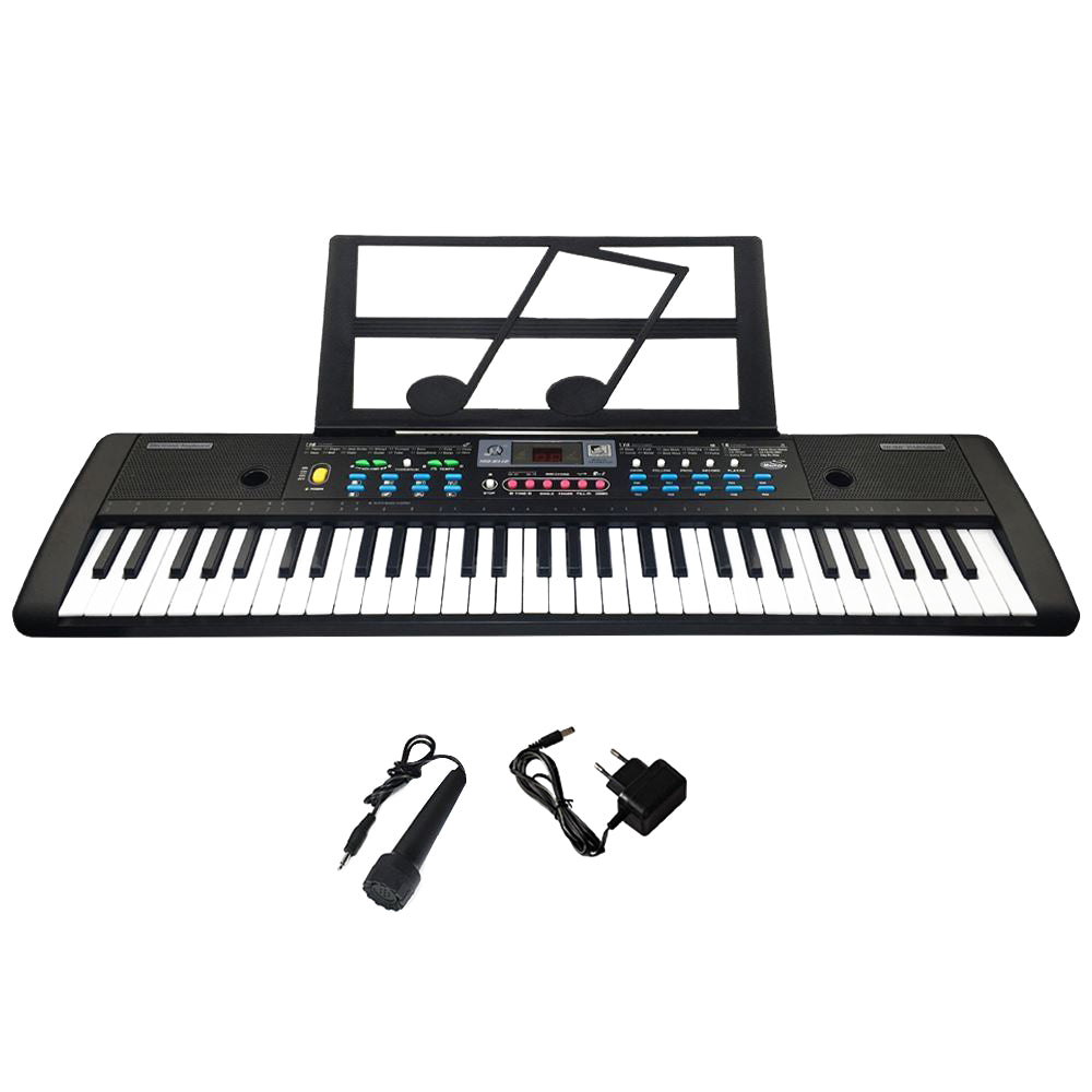 61 Keys Digital Electronic Keyboard And Microphone