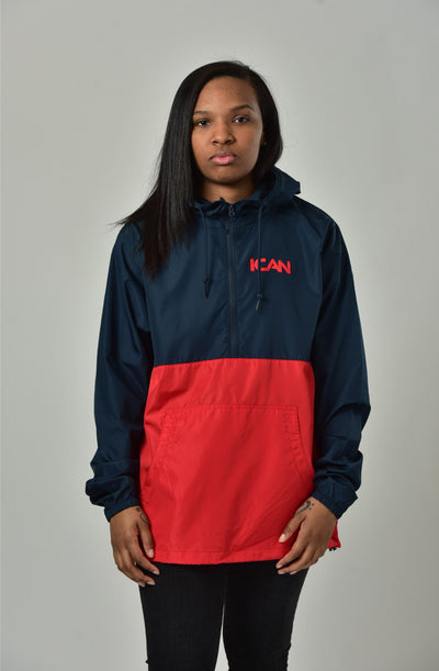 ICAN WINDBREAKER PULLOVER LIGHT WEIGHT