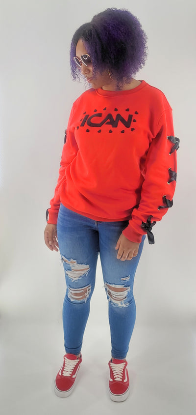 ICAN Women's Essentials Fleece Crew Top