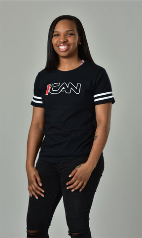 ICAN FOOTBALL T SHIRT