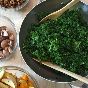 Welsh Kale Salad