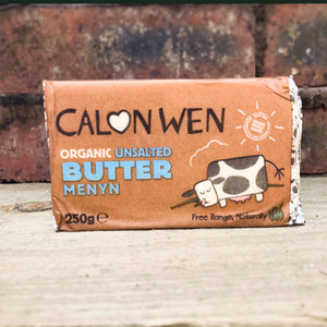 Unsalted Salted Organic Welsh Butter