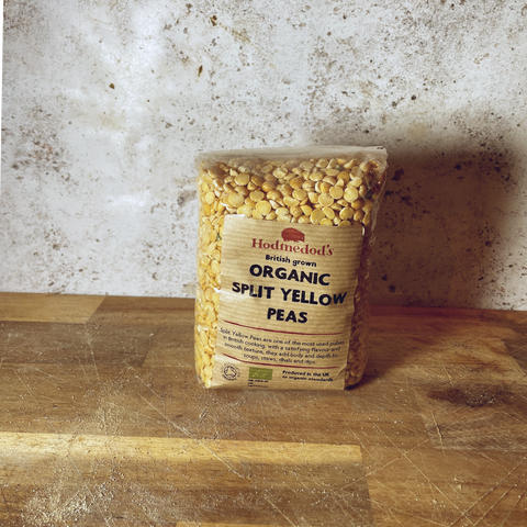 Organic Split Yellow Peas 500g
