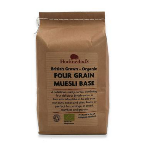 Muesli Base, Four Grain, Organic 500g