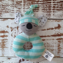 Load image into Gallery viewer, Organic Farm Buddies - Organic & Soft Kozy Koala Rattle