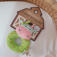 Load image into Gallery viewer, Organic Farm Buddies - Organic & Soft Belle The Cow Rattle