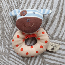 Load image into Gallery viewer, Organic Farm Buddies - Organic & Soft Boxer The Dog Rattle