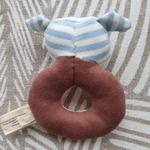 Organic Farm Buddies - Organic & Soft Boxer The Dog Rattle