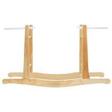 Load image into Gallery viewer, Baby Moses Basket - Natural with Hazelnut Handles
