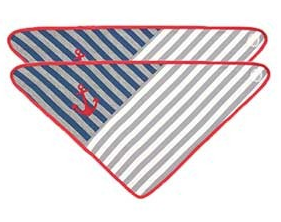 Grey Stripes Bandana