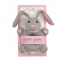 Load image into Gallery viewer, Apple Park's - Organic & Soft Bunny Rattle