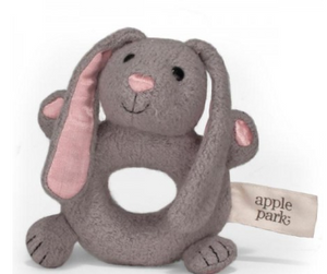 Apple Park's - Organic & Soft Bunny Rattle