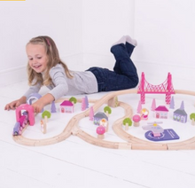 Load image into Gallery viewer, Fairy Town Train Set
