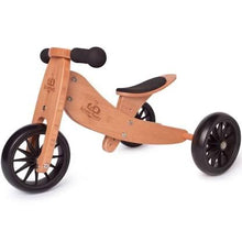 Load image into Gallery viewer, Kinderfeets Tiny Tot Trike & Balance Bike - Bamboo