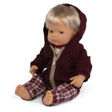 Load image into Gallery viewer, Miniland Doll - Anatomically Correct Baby, Caucasian Boy and Outfit Boxed, 38 cm